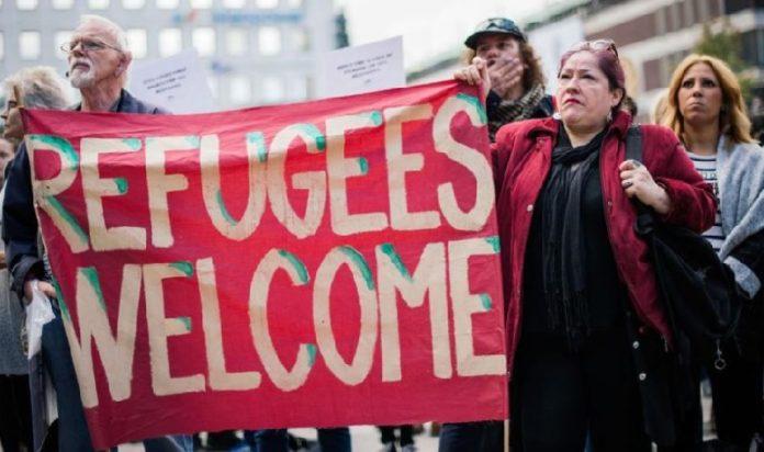 Gutmenschen im Asylrausch (Symbolbild).