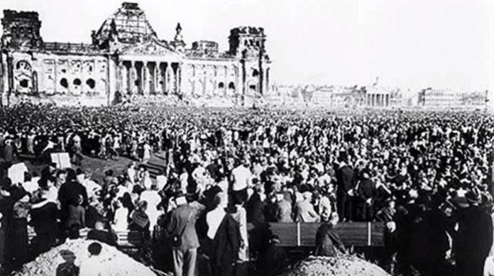Die Rede des Berliner SPD-Oberbürgermeister Ernst Reuter am 9. September 1948 vor rund 300.000 Zuschauern ist bis beute unvergessen.