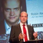 """Robin Alexander, Autor von """"Die Getriebenen""""."""