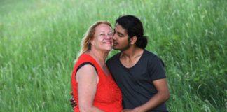 """Barbara Schwager und ihr """"Lover"""" Nadeem A."""