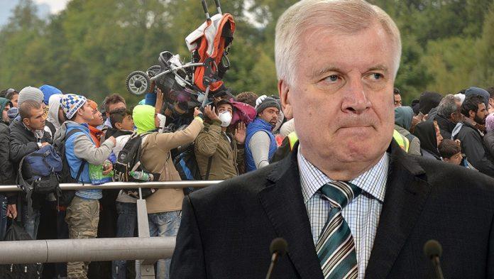 CSU-Vorsitzender Horst Seehofer (Fotocollage).