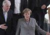 Horst Seehofer (CSU) und Angela Merkel (CDU) nach dem Scheitern der Gespräche.