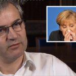 Der Chefredakteur der Basler Zeitung, Markus Somm, wird Angela Merkel Ignoranz vor.