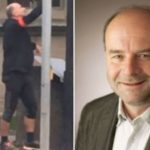 CSU Bürgermeister Werner Stöcker bei der Wahlkampfarbeit