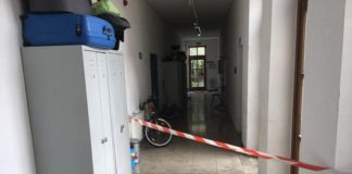 Tatort: Asylunterkunft in der Taufkirchener-Straße/Eggenfelden.