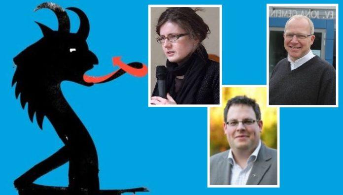 Fotocollage (links oben: Katrin Berger, rechts: Wolfgang Grosse, unten: Lars Hillebold).