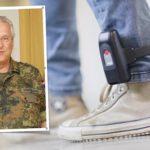 """Joachim Herrmann, CSU: """"Sicherheit durch Stärke!"""" (Fußfessel / Symbolbild)."""