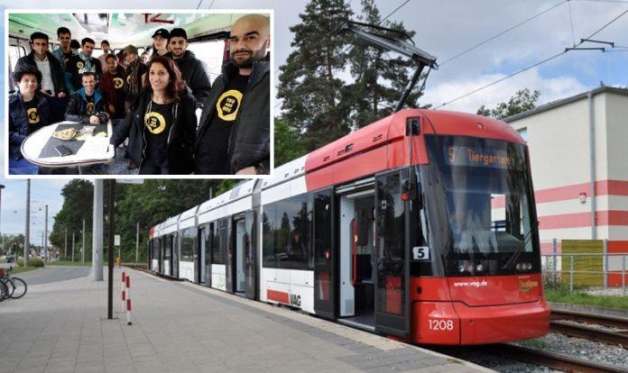 Straßenbahn Nürnberg, (kl. Foto:
