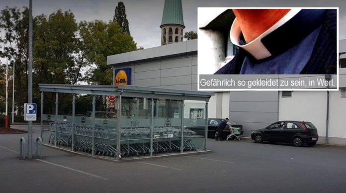 Lidl-Discounter in Werl (NRW).