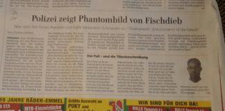 """""""Wieso eine Öffentlichkeitsfahndung?"""", fragt Christian Wolters in der Hildesheimer Allgemeine."""