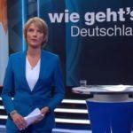 """Marietta Slomka am 5. September 2017 in der ZDF-Sendung """"Wie geht's Deutschland"""""""